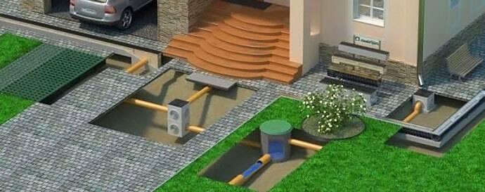 Ливневая канализация в частном доме - правильное устройство