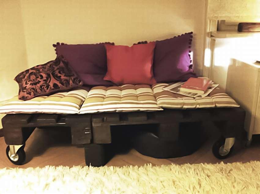 Кровать из поддонов своими руками пошагово: фото готовых изделий, мастер класс по изготовлению, как сделать из паллета