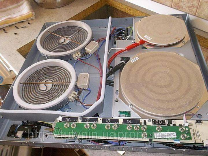 Ремонт варочных панелей можно произвести своими руками хоть индукционных, хоть электрических