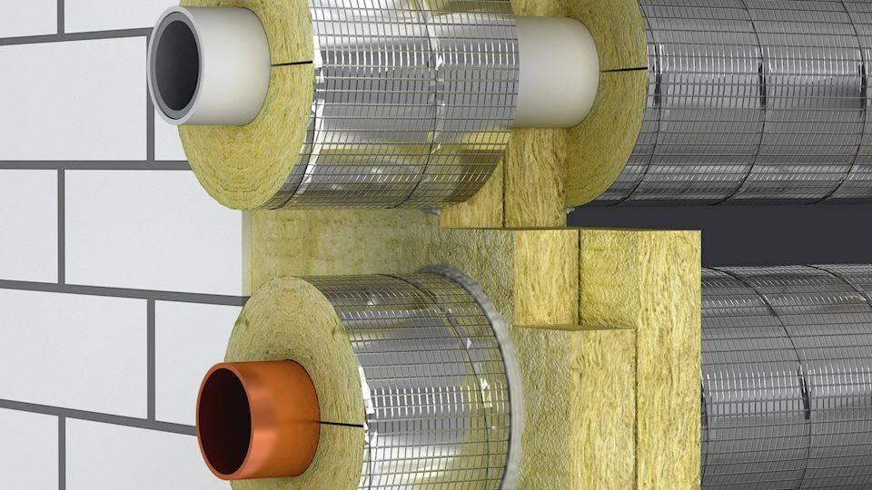 Утеплитель для труб отопления: термоизоляционные материалы и их монтаж