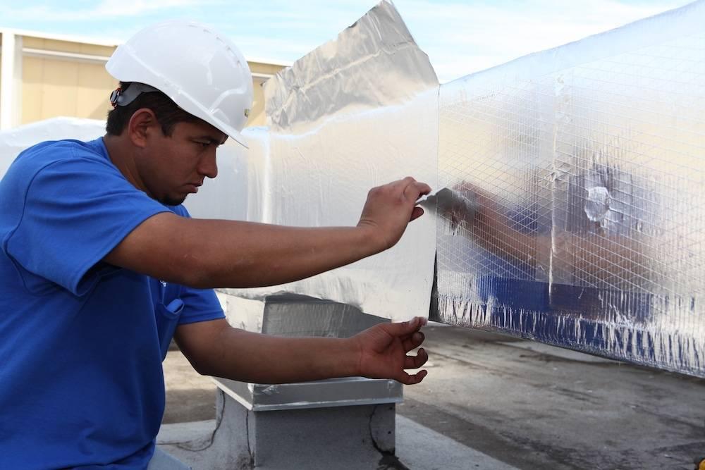 Материалы для утепления воздуховода своими руками