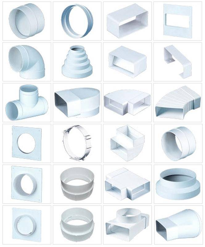 Вентиляционный короб для вентиляции и воздухообмена – разновидности, монтаж, восстановление