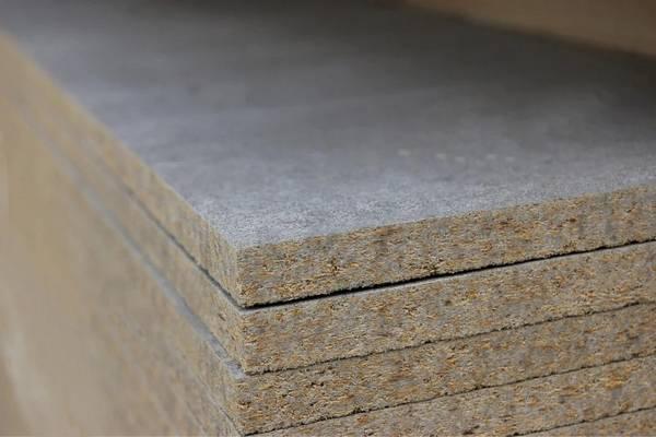 Монтаж цементно-стружечной плиты на фасад