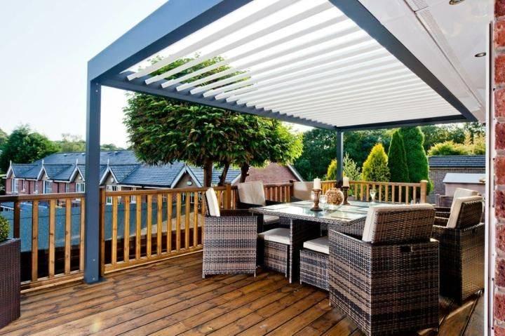 Терраса на крыше — роскошь доступная каждому