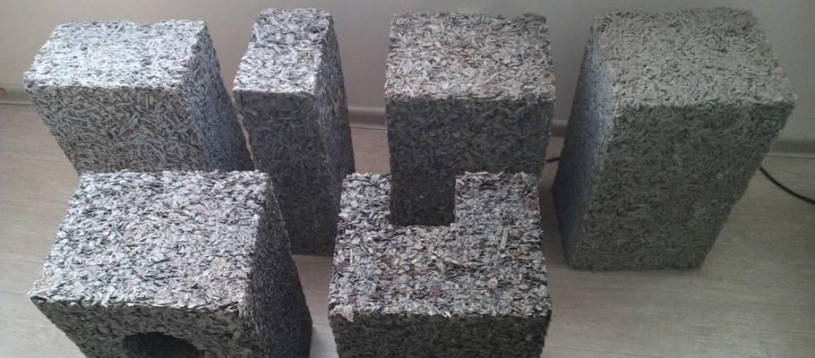 Технология производства арболитовых блоков
