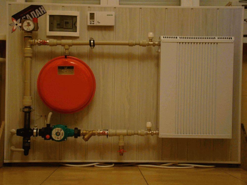 Установка и подключение электрического котла в частном доме