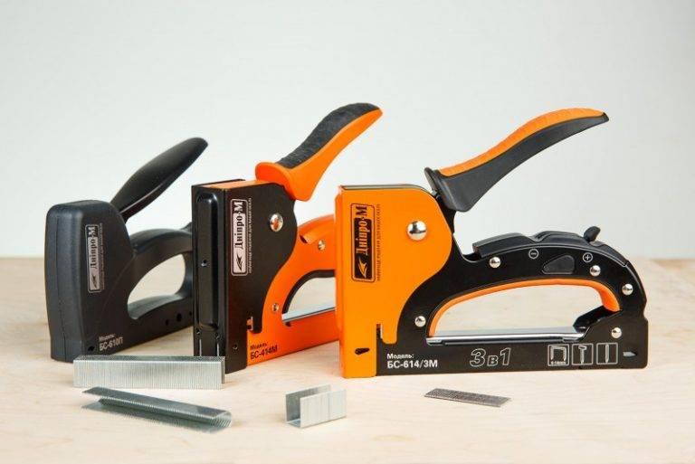 Мебельный степлер, основные характеристики и особенности устройств