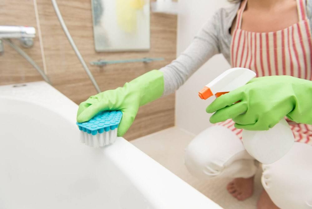 Черная плесень в ванной - как избавиться?