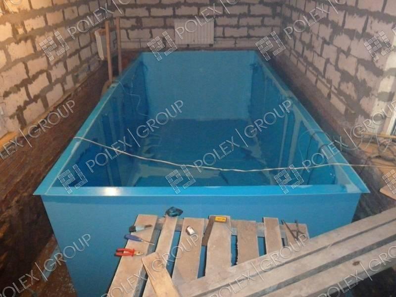 Бассейн в бане своими руками: пошаговая инструкция
