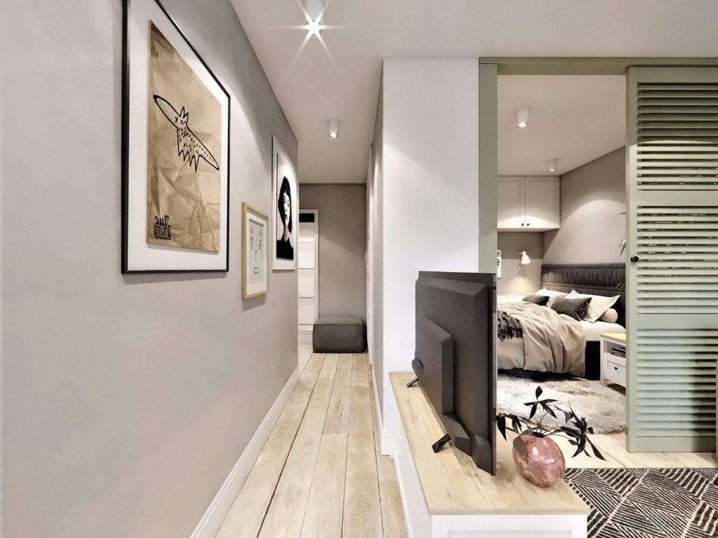 Дизайн квартиры студии 35 кв. м – несколько советов!