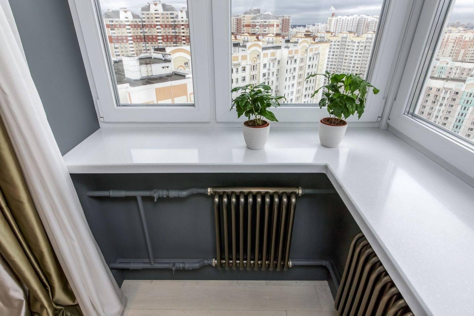 Можно ли обойти запрет выносить отопление на балкон?