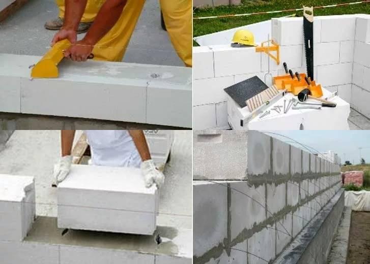 Дом из газобетона своими руками: преимущества материала, основные этапы строительства жилья из газоблоков