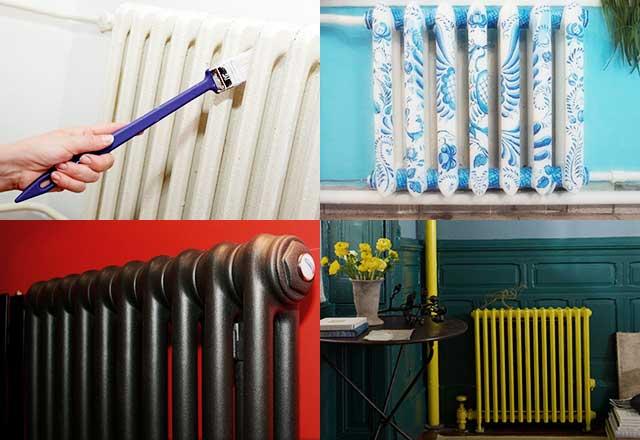 Как покрасить батарею отопления: красим все виды радиаторов - точка j