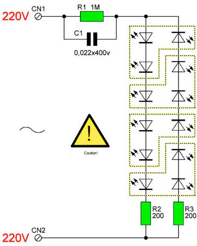 Как подключить точечные светильники: схемы, порядок работ