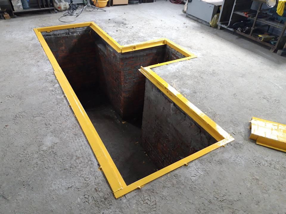 Яма в гараже своими руками: технология строительства и советы как сделать смотровую яму (100 фото + видео)