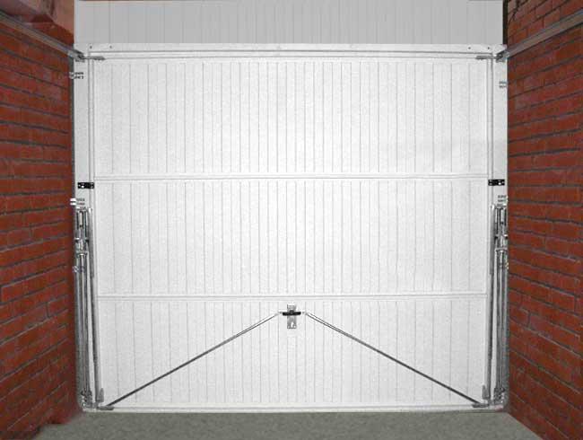 Подъемно складные ворота