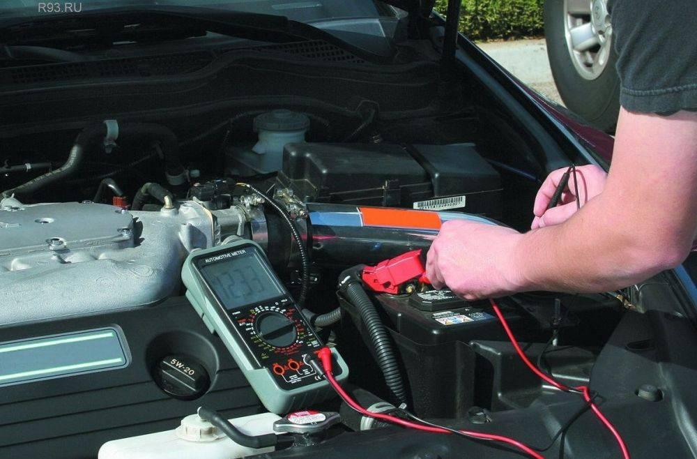 Как проверить утечку тока на автомобиле мультиметром и допустимое значение (норма)
