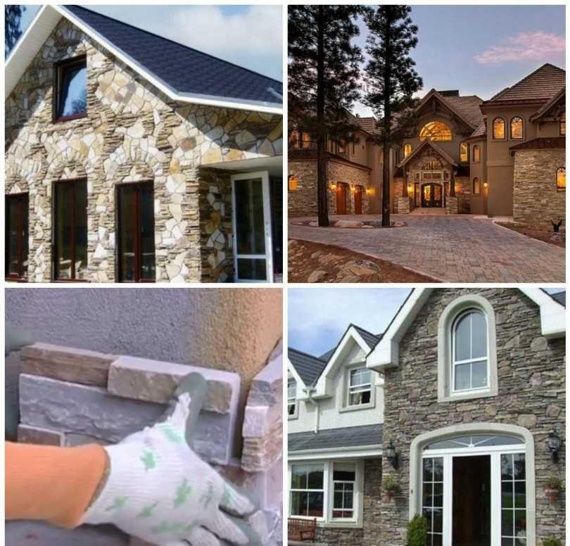 Облицовка фасада дома какой материал лучше?