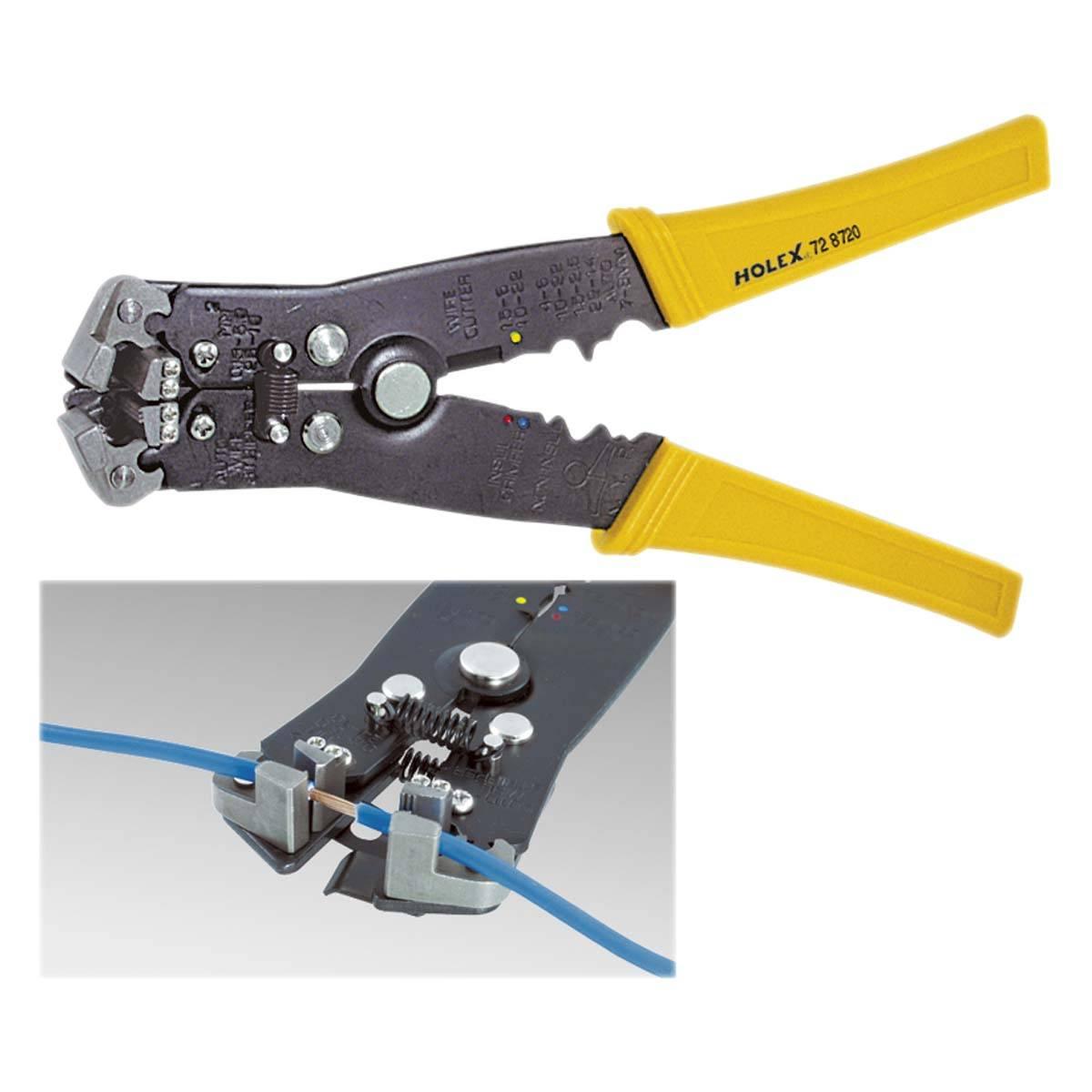 Приспособа для снятия изоляции с кабеля