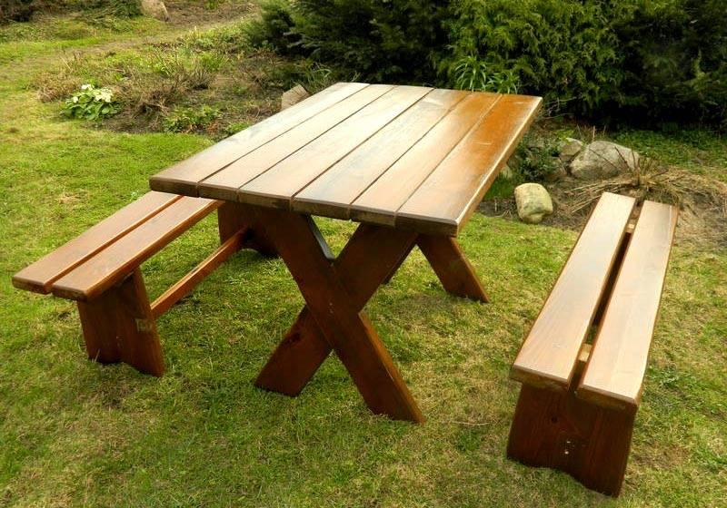 Деревянный стол своими руками - пошаговая инструкция, чертежи и фото