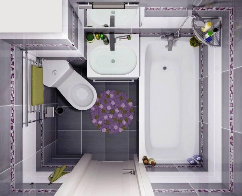 Дизайн ванной комнаты 2020-2021 на 3 кв.м: лучшие современные идеи - 50 фото