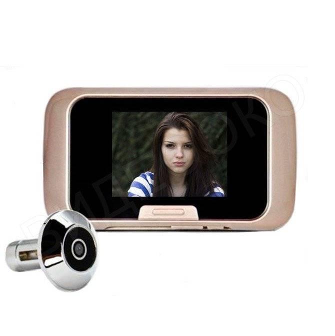 Видеоглазок для входной двери: работа уличной видеокамеры с монитором