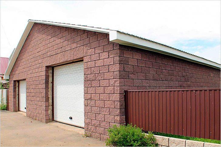 Из чего построить гараж: выбираем лучший материал. из каких блоков построить гараж
