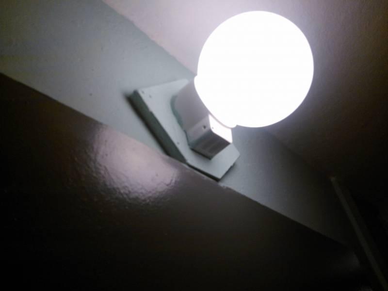 Выбор, установка и настройка светодиодного светильника с датчиком движения