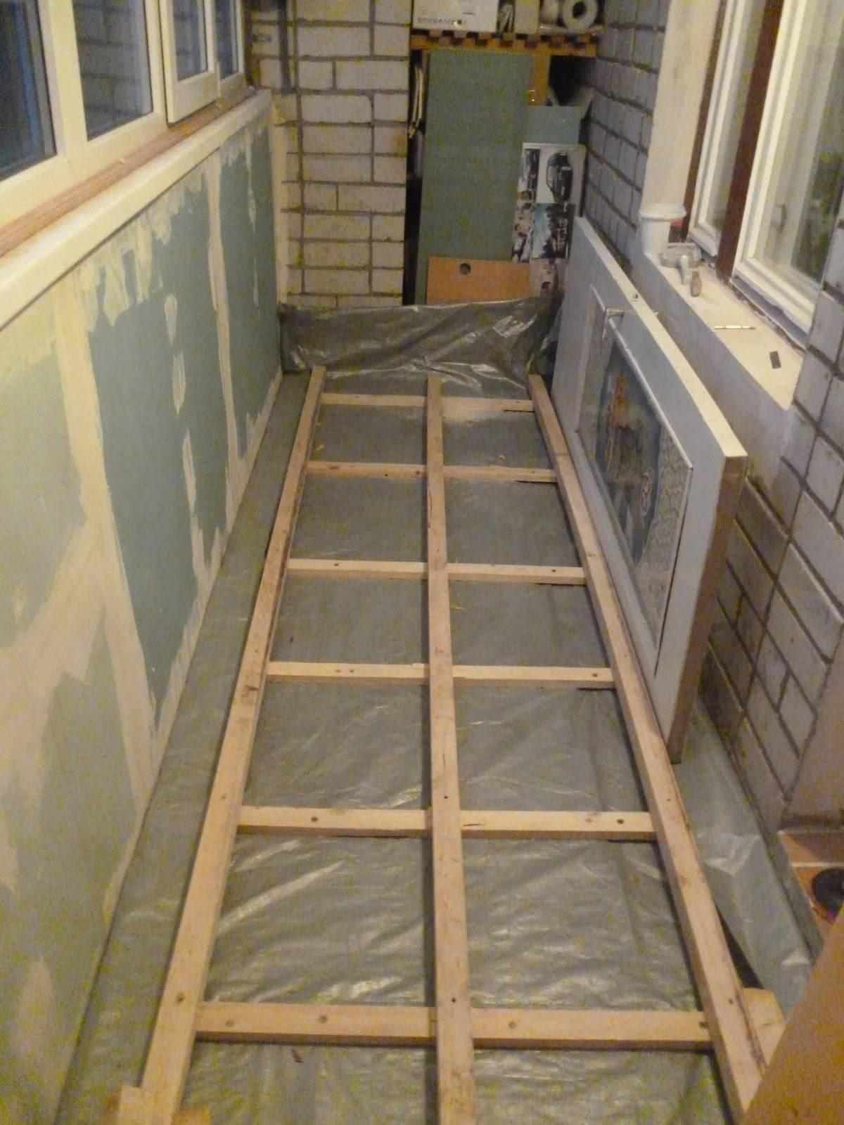 Как поднять пол на балконе - 4 способа с пошаговыми инструкциями!