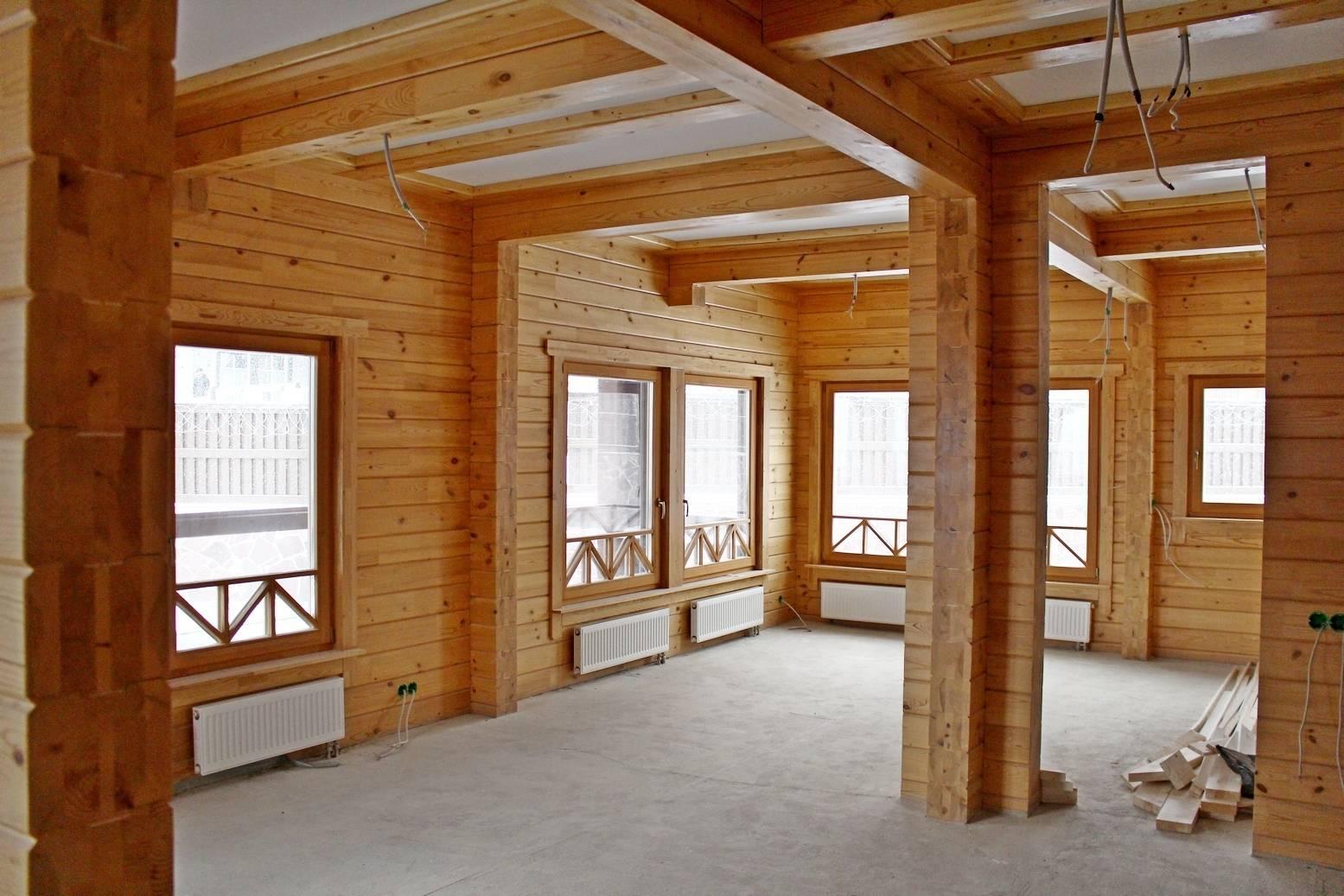 Внутренняя отделка деревянного дома – советы специалиста