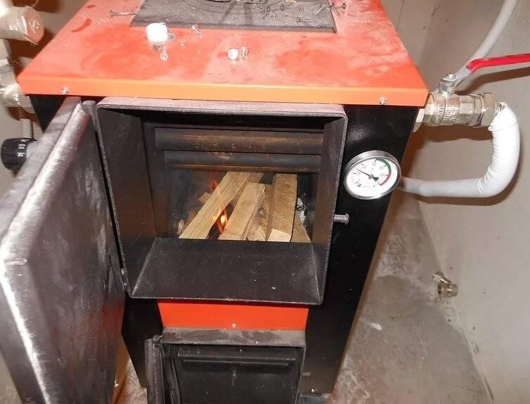 Котлы на дровах для обогрева частных домов