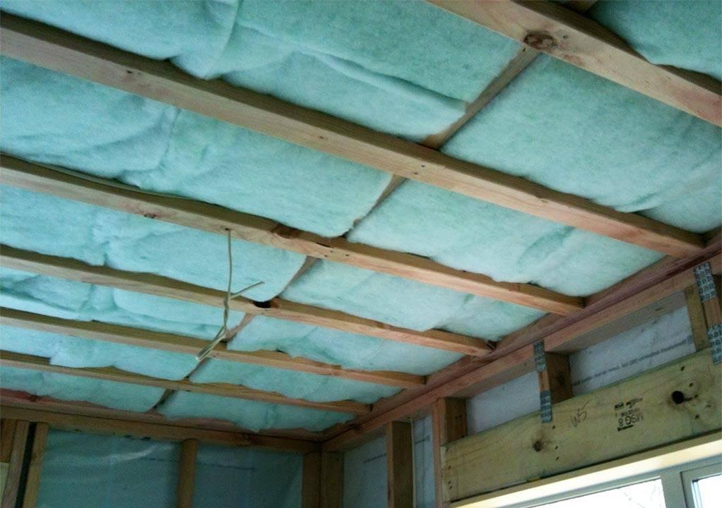 Утепление бетонного потолка в квартире изнутри - какие материалы можно использовать и как его сделать?