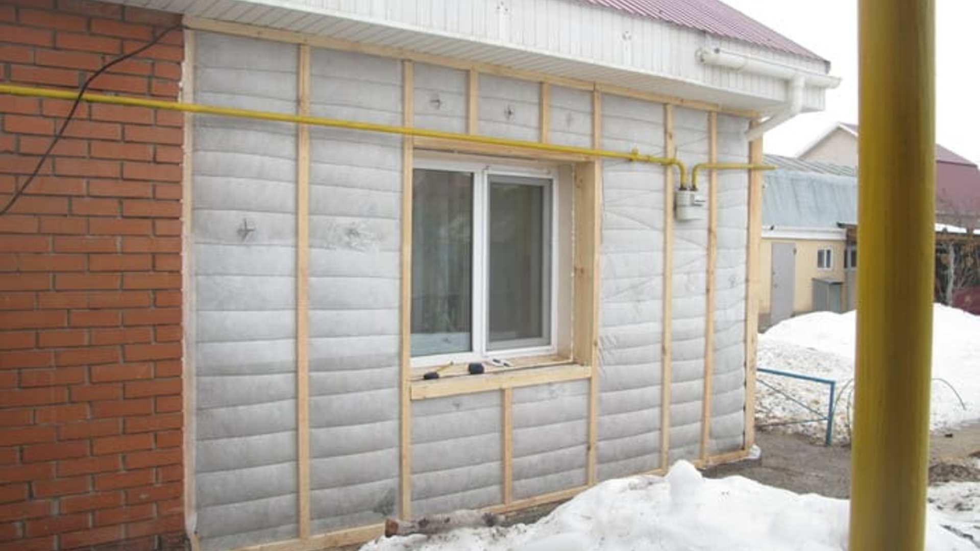 Чем утеплить стены между блоком и кирпичом. утепление дома. утепление дома из блоков и кирпича. технология утепления и облицовки стен