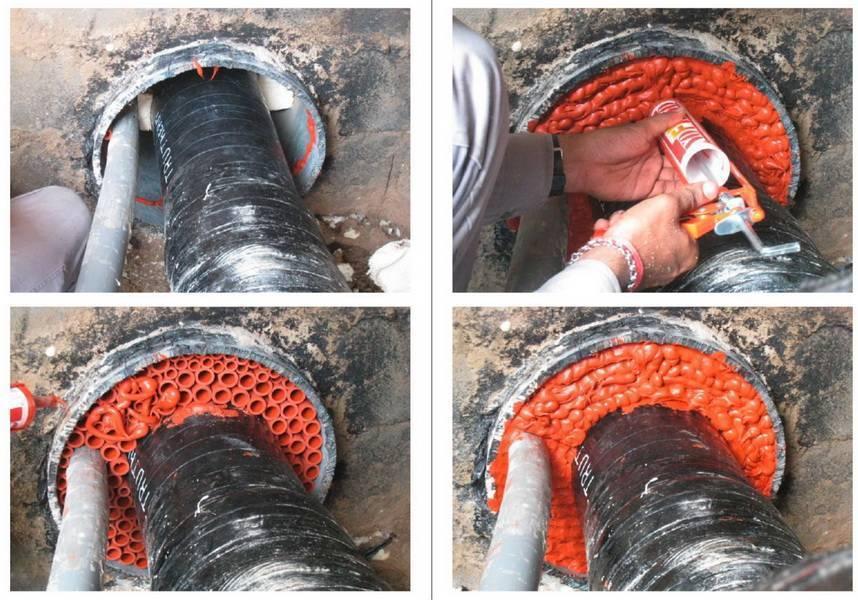Чем заделать чугунную канализационную трубу – ремонт