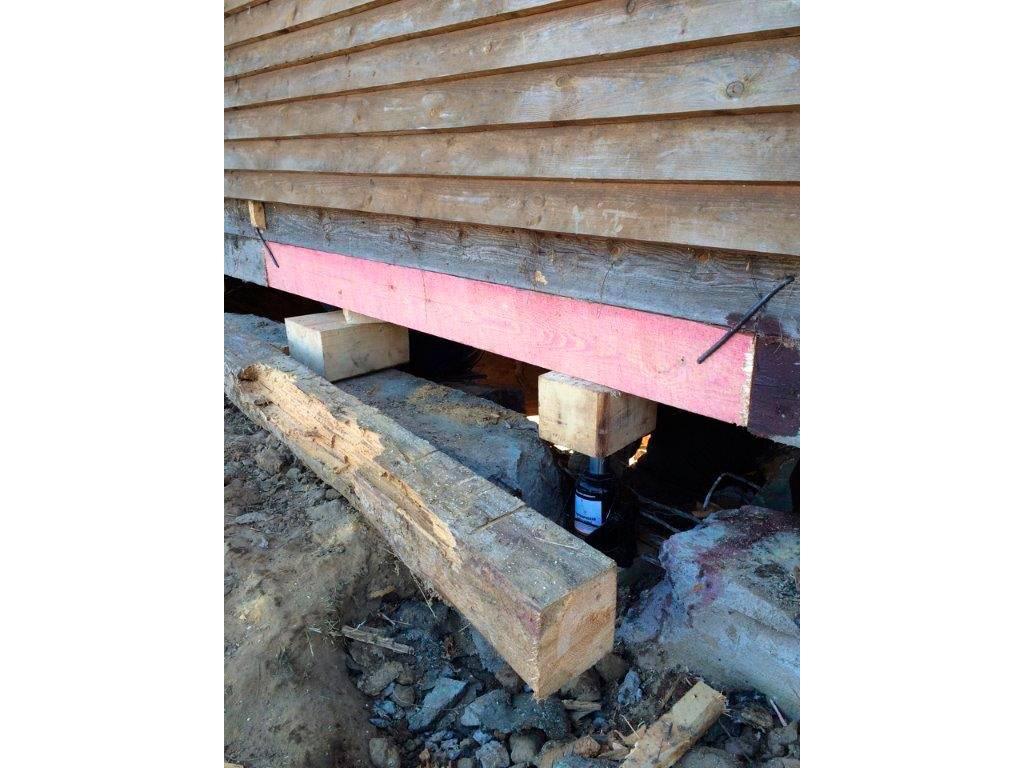 Замена нижних венцов деревянного дома своими руками: видео