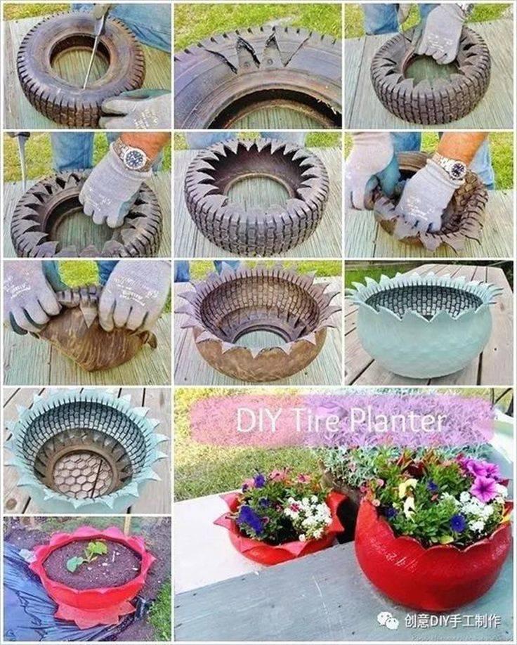 Уличные вазоны для цветов своими руками – это так просто!