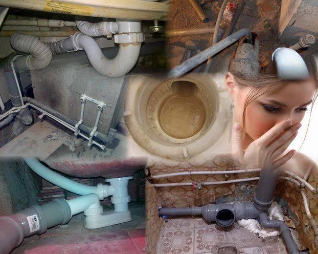 Почему пахнет канализацией в ванной и как избавиться от запаха