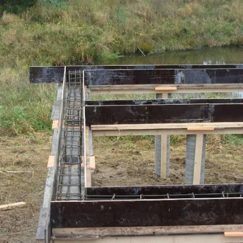 ➤ свайно-ростверковый фундамент своими руками: с высоким и низким ростверком   мы строители ✔1