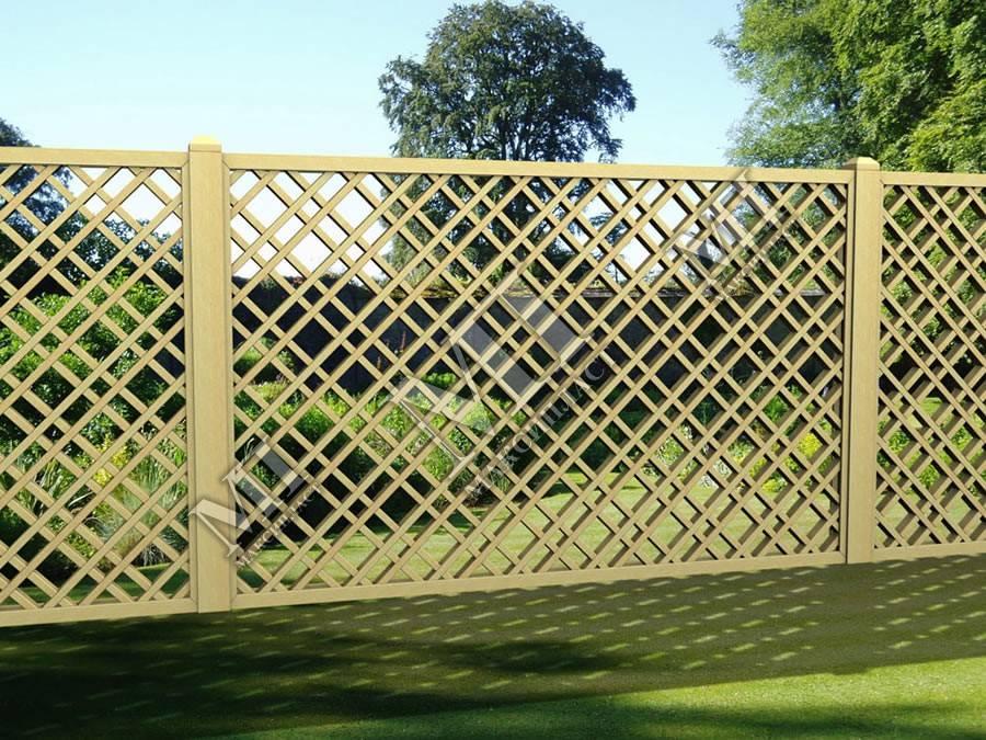 Забор своими руками - расчет размеров и установка самодельного забора (100 фото)