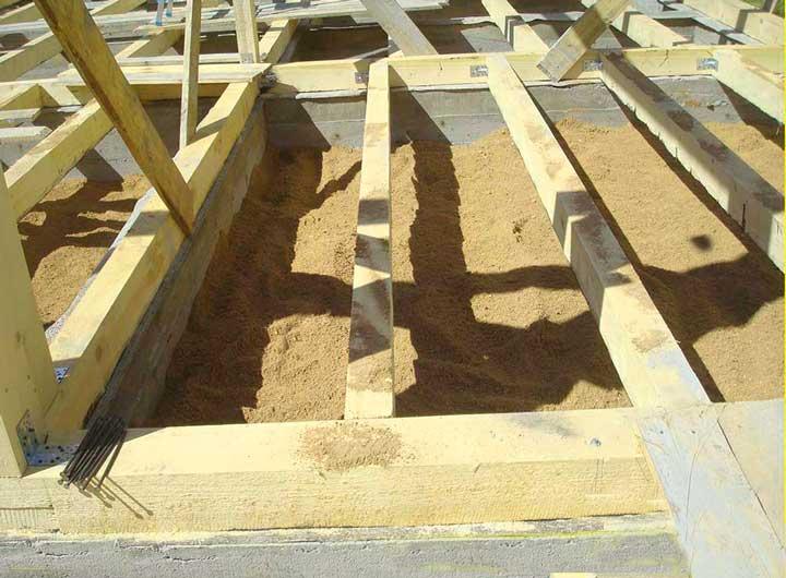 Строим фундамент для каркасного дома