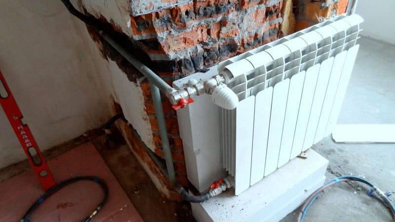 Перепланировка на балконе — нормы для установки батареи без штрафа