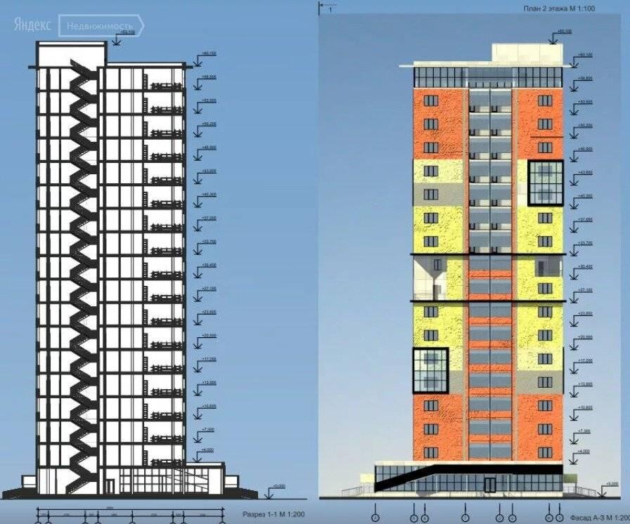 Высота 5 этажного дома в метрах: хрущевка и кирпичное панельное строение по гост, брежневка и сталинка