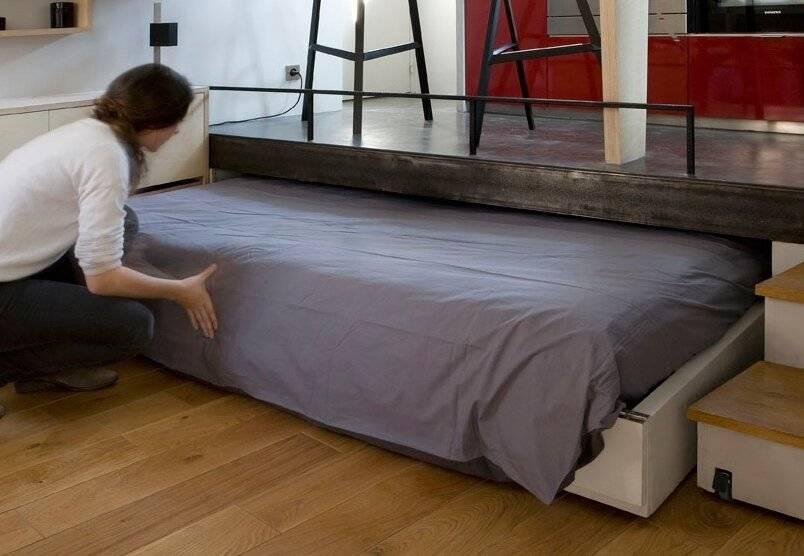 Подиум своими руками – как подобрать оптимальную высоту, материалы и сделать подиум правильно (125 фото)