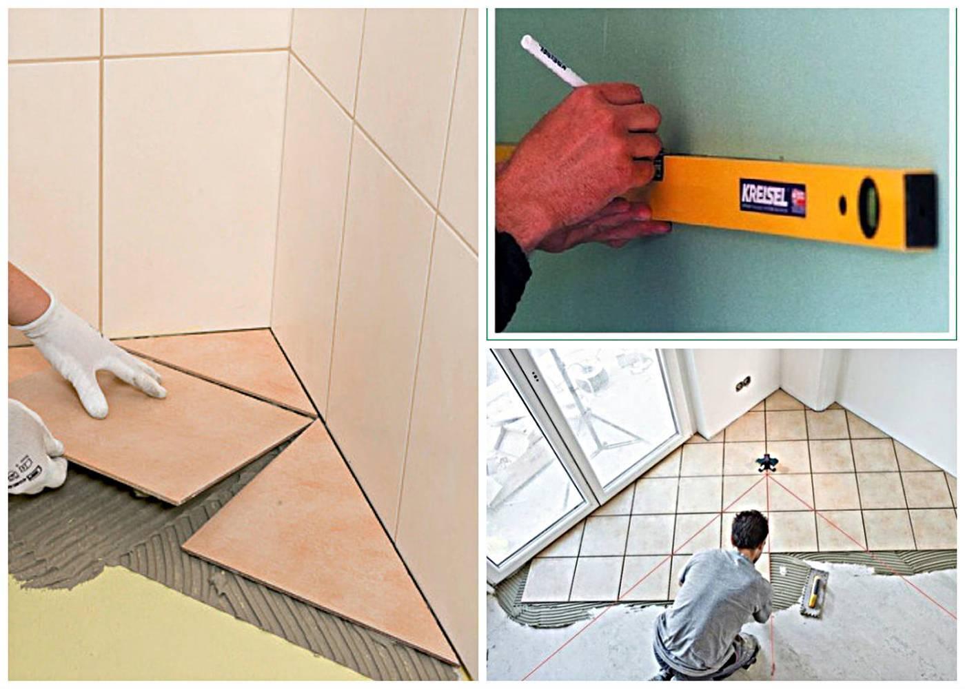 Укладка плитки на пол в ванной комнате: как сделать стяжку пола под плитку своими руками, как положить кафель на деревянное основание, можно ли использовать настенную плитку для пола