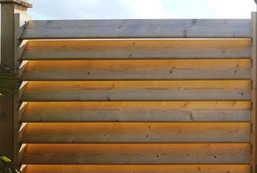 Деревянный забор своими руками: пошаговая инструкция