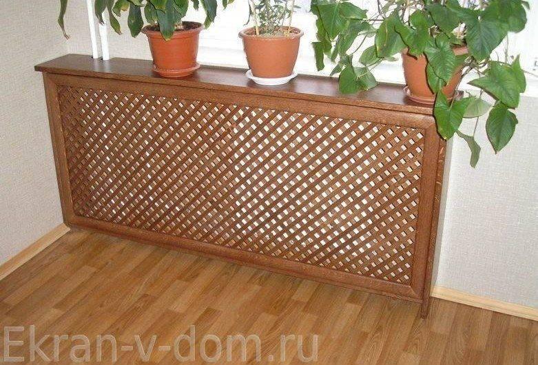 Декоративные решетки на радиаторы отопления - виды, особенности
