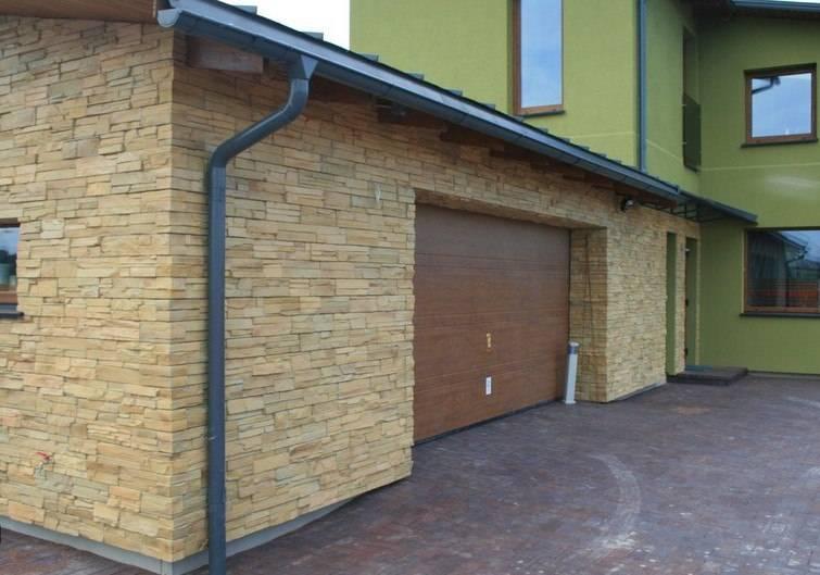 Материалы для отделки гаража снаружи + фото