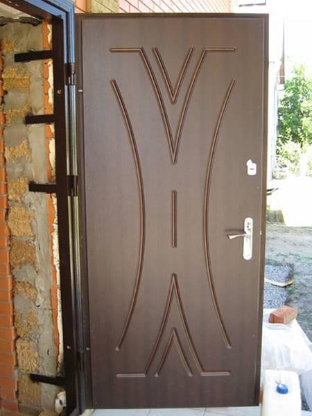 Железная дверь: изготовление и установка своими руками - видео