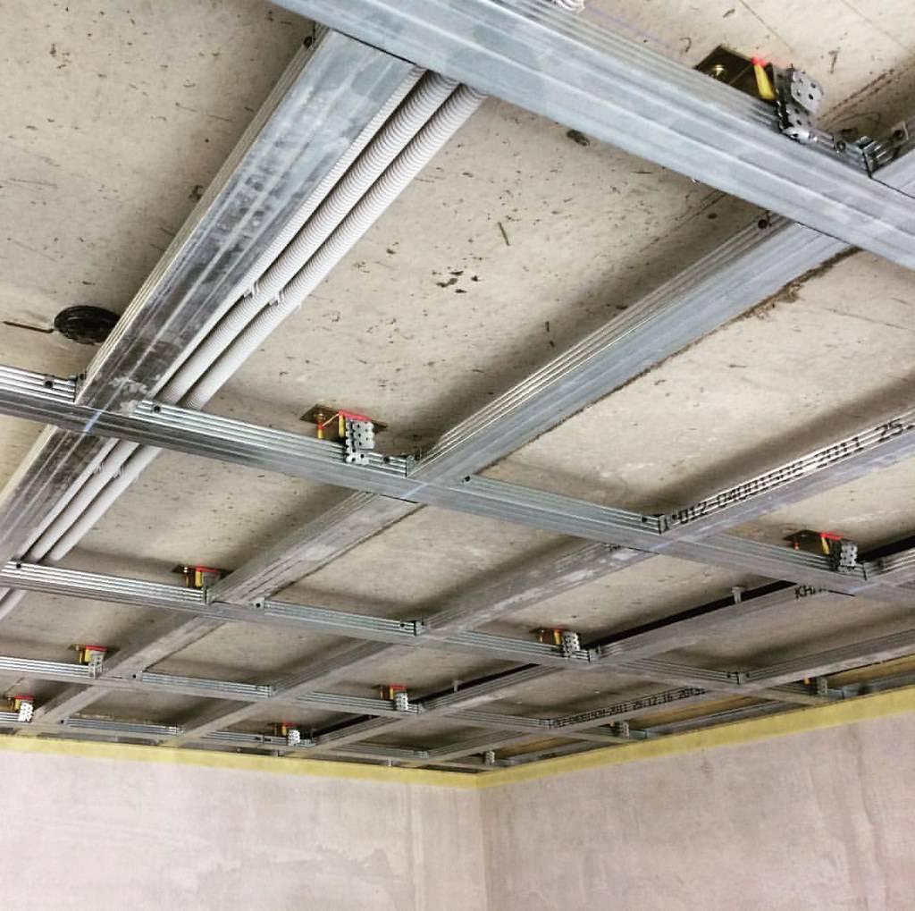 Устройство потолка из гипсокартона - полезные рекомендации