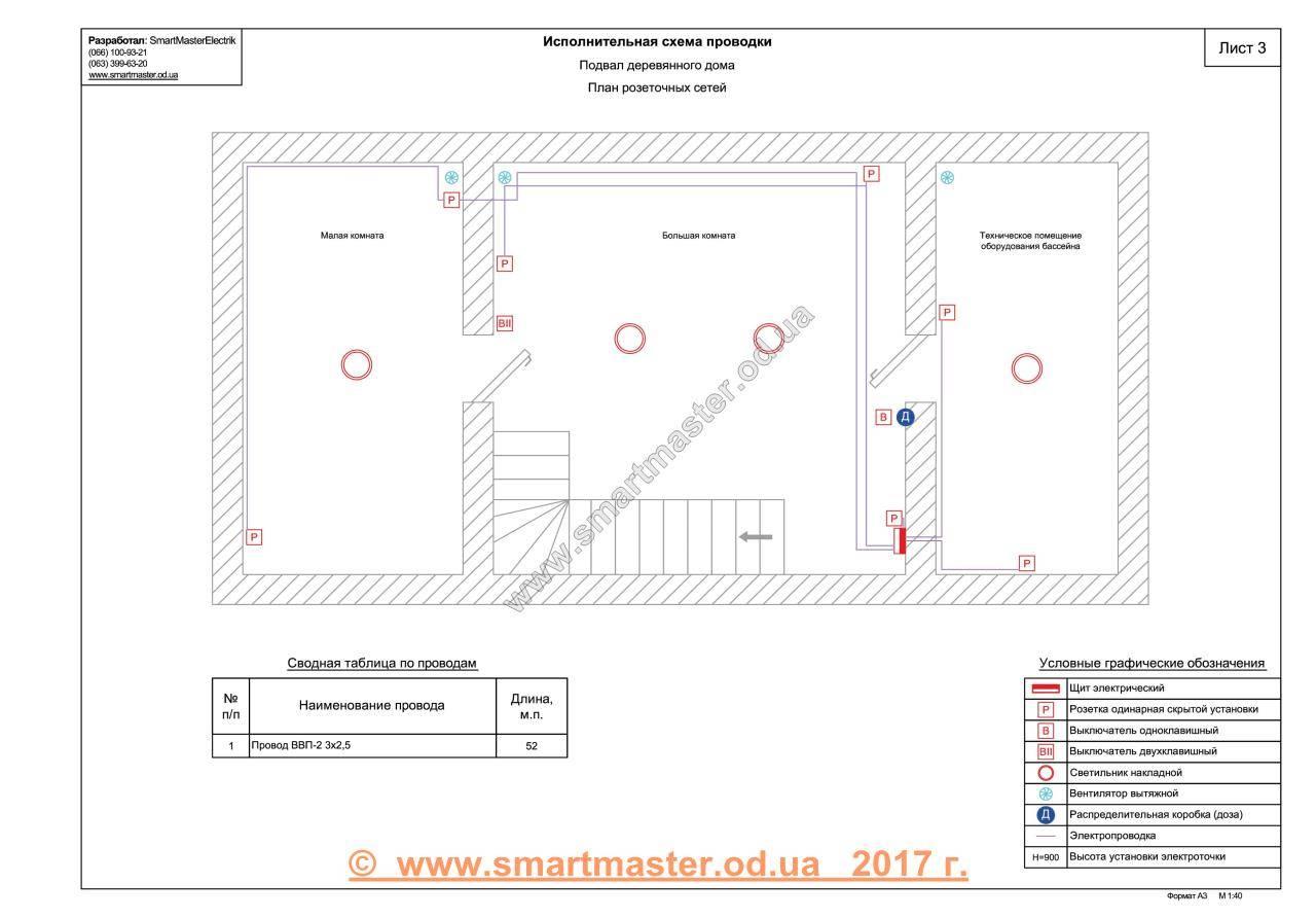 Схема электропроводки: план проводки в квартире и частном доме своими руками